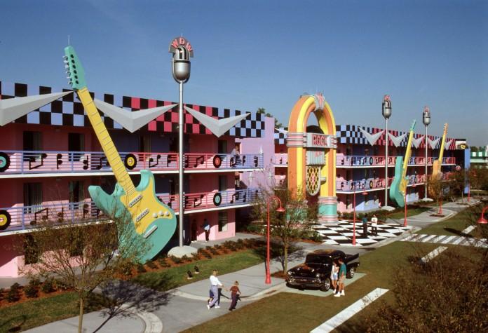 DG2-3 Disney's All-Star Music Resort-Rock Inn Jan. 1995 MRA