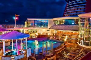Disney Cruise Line's Wonder | Quiet Cove Pool