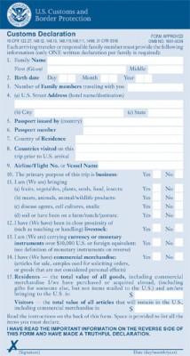 formulario-alfandega-eua-vai-pra-disney