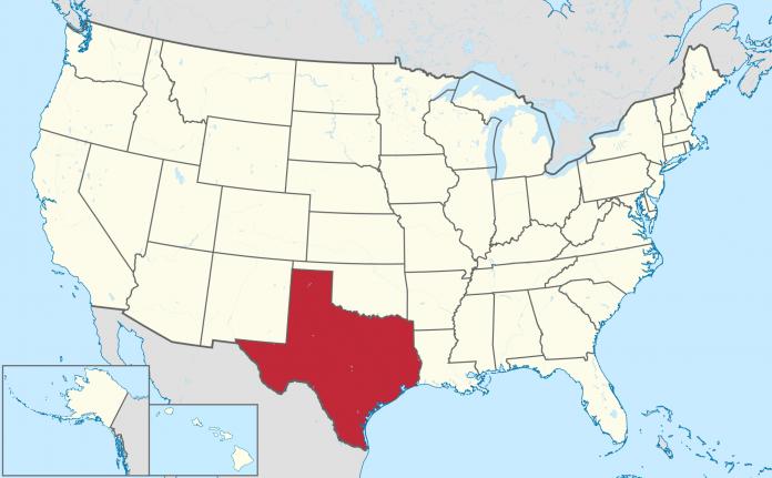 texas mapa