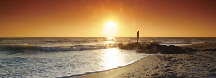 Caspersen Beach Sunset