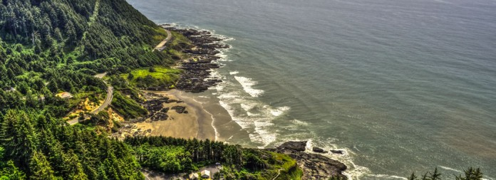 Cape Perpetua by Mike Shaw - RIGHTS FREE