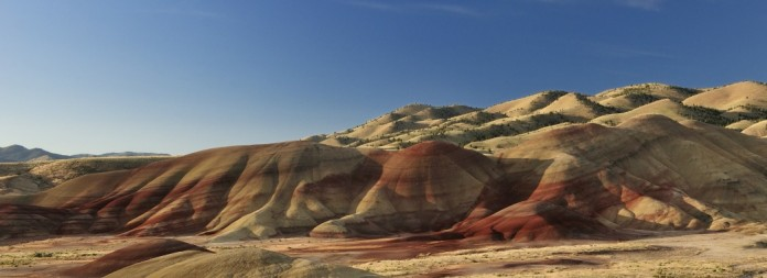 Painted Hills,Painted Hills, John Day Fossil Beds National Monument, Mitchell ,Oregon,USA