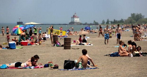 Beach Ohio