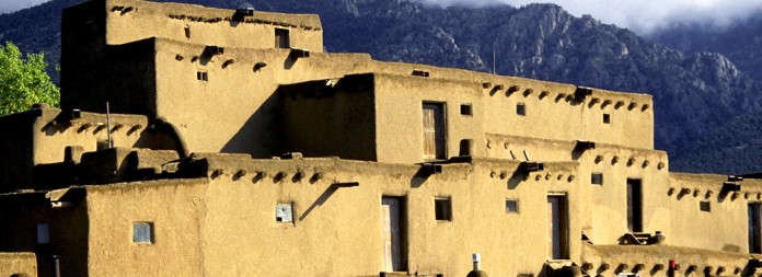 Before 16th century, Taos, New Mexico, USA --- Taos Pueblo --- Image by © Michael T. Sedam/Corbis