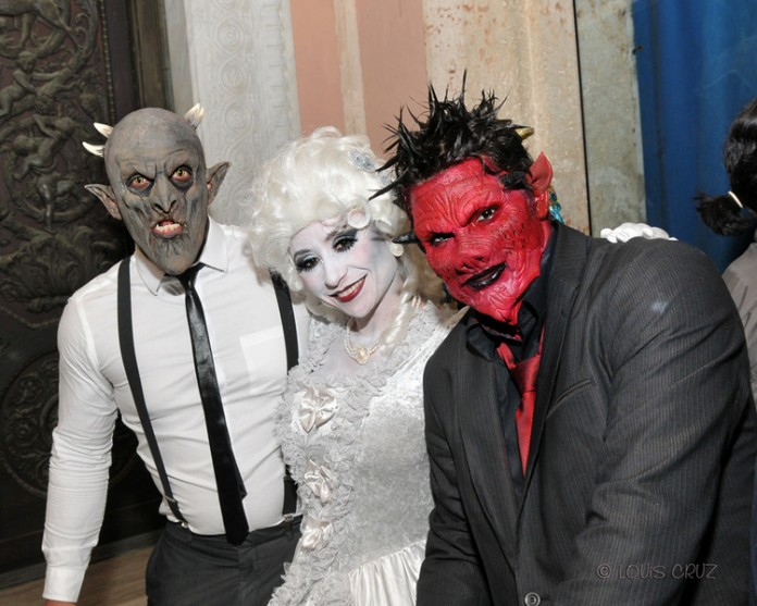 Fundraiser Halloween Party at Vizcaya
