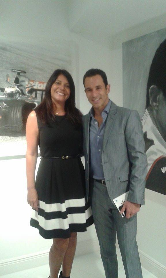 Val Campello e Helio Castroneves